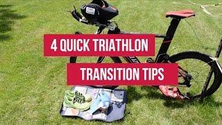 4 Quick Triathlon Transition Tips