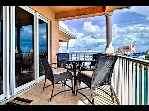 Vacation rental Harborview Grande 803 walkthrough, Clearwater Beach