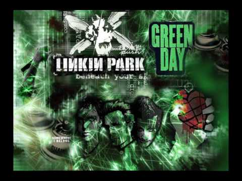 Linkin Park Ft Greenday - Broken Dreams Somewhere (Mashup) Remix Mp3