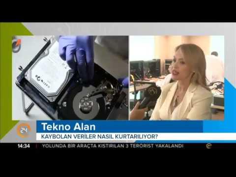 TV24 Tekno Alan Programı 10.6.2017