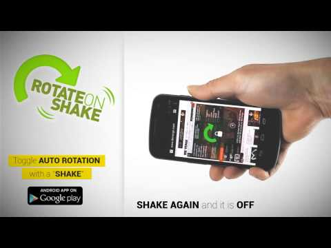 Video of Rotate on Shake