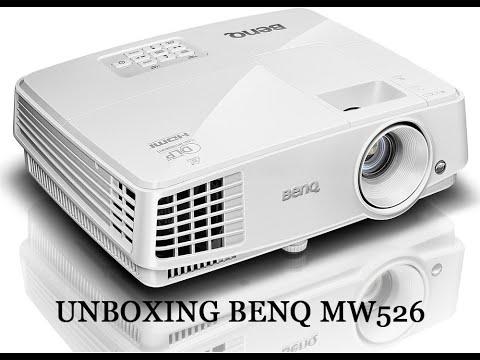 unboxing proyector Benq MW526