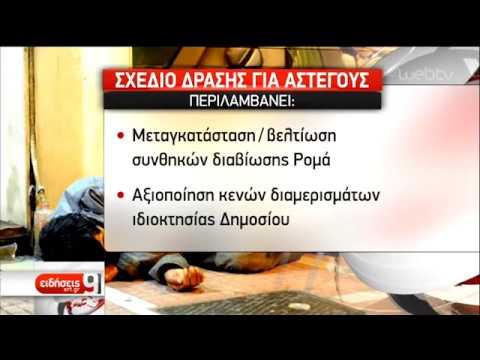 Οι 7 άξονες της Εθνικής Στρατηγικής για τους αστέγους   18/12/18   ΕΡΤ
