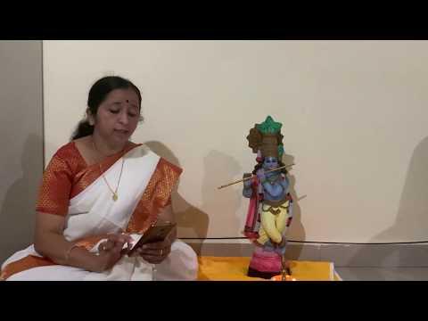 Raji Vidyanandan   Krishnagadha Part 2 Chapter 29 Swargarohanam Beginning Part 1