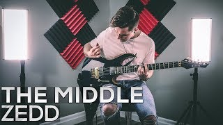 Zedd, Maren Morris, Grey    The Middle   Cole Rolland (Guitar Cover)