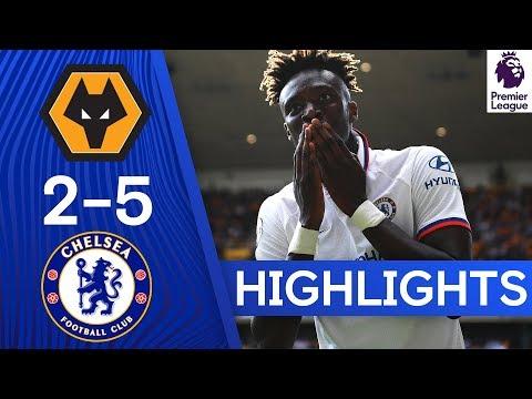 Wolves 2-5 Chelsea | Tammy Abraham Hat Trick & Tomori Stunner | Highlights