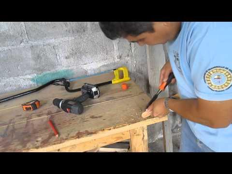 Como hacer un juguete de madera sencillo pero entretenido