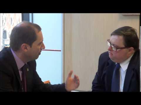 Ver vídeoSíndrome de Down: Entrevista al Sr. Josep Oliva, Diputació de Barcelona