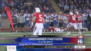 Fearless 40: Greenbrier Panthers