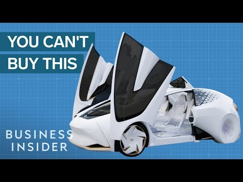 The Million Dollar Concept Cars That Never Go Anywhere