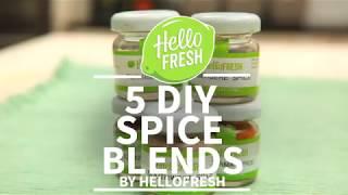 5 DIY Spice Blends