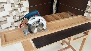 How To Make Circular Saw Track Guide