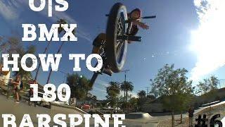Как сделать 180 барспин на BMX (How to 180 barspin BMX)
