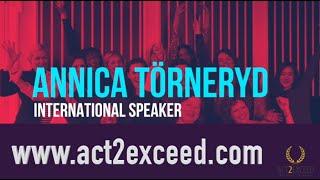 Annica Törneryd Speaker Reel