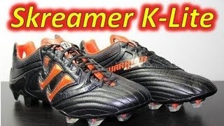 Warrior Skreamer K-Lite Black/Spicy Orange - Unboxing + On Feet