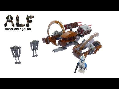 Vidéo LEGO Star Wars 75085 : Le droïde Hailfire