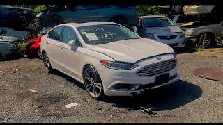 Нереальный удар 👊🏻 2017 Ford Fusion и снова страховая компания 🤦🏻♂️.Авто из США.