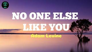 Adam Levine  - No One Else Like You (LYRICS)