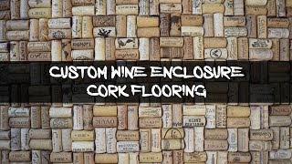 Wine Cork Enclosure Floor   Rocky Rose Art   Etsy   Allison Piccioni
