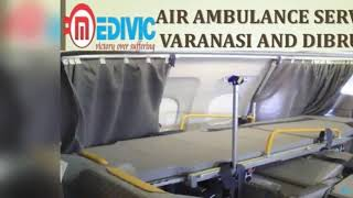 Use Effective Emergency Care Air Ambulance Service in Varanasi by Medivic