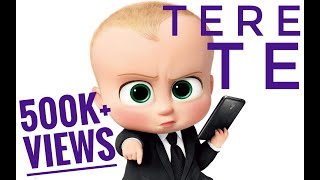 Tere Te || Guru Randhawa New Song Tere Te ft.  Ikka || Boss Baby version || T-Series
