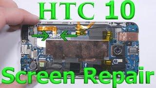 HTC 10 Teardown - Charging port fix - Battery Repair - Screen Replacement