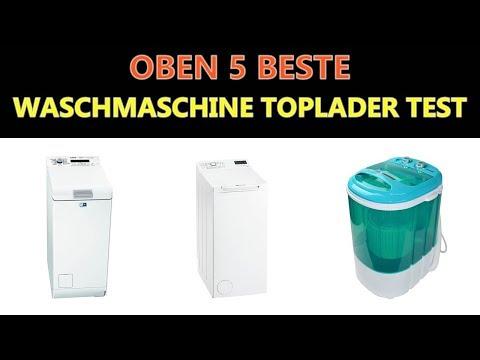 Beste Waschmaschine Toplader Test 2018