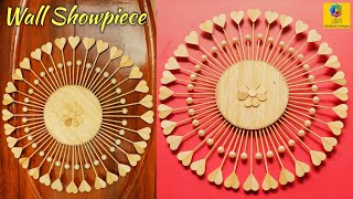 Wall Hanging Showpiece Making At Home | DIY Home Decor Craft | Handmade Wall Decoration Design Idea