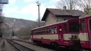 preview picture of video 'ČD 441, 362, 810 und mehr in Tschechien'