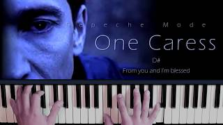 Depeche Mode One Caress Piano - Strings Cover