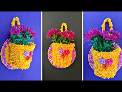 DIY Simple Method To Make Wall hanging || Wall decoration..