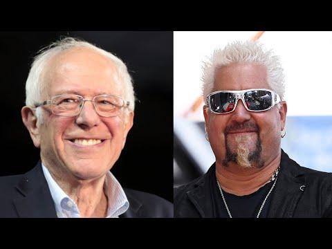 "SHOCK: Guy Fieri & Ice Cube ""ENDORSE"" Bernie Sanders!"