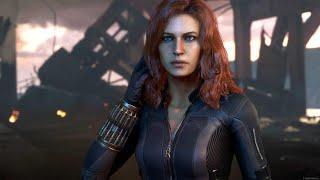 Virgin Media Marvel's Avengers character profile: Black Widow Advert