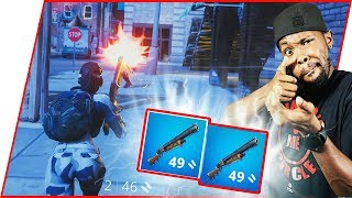 DOUBLE PUMP DOMINATIONALISM! - FortNite Gameplay