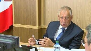 Сергей Митин провел заседание координационного совета по вопросам строительства при губернаторе области