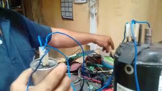 Como ligar e destravar compressor.