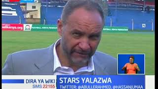Harambee Stars yalazwa moja bila na Swaziland katika uga wa Kenyatta, Machakos