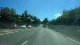 preview picture of video 'Ile de La réunion montée de St Pierre au Tampon'