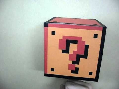 Make Your Own Super Mario-Style Coin Block