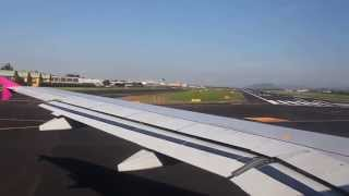 preview picture of video 'Take-off Bergamo Orio al Serio International Airport'