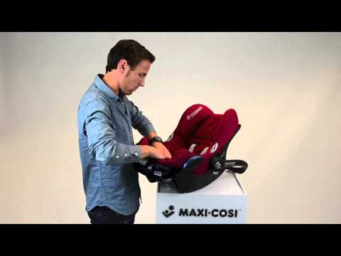 Maxi-Cosi CabrioFix | How to put the cover on