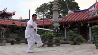 Master Daniel Tan   Tai Chi Sword 42   International Competition Routine