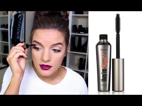 "Benefit ""They're Real"" Mascara: Is it Worth Buying? First Impression – (F.I.F)"