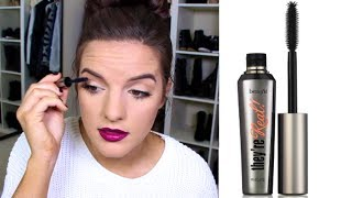"""Benefit """"They're Real"""" Mascara: Is it Worth Buying? First Impression - (F.I.F)"""