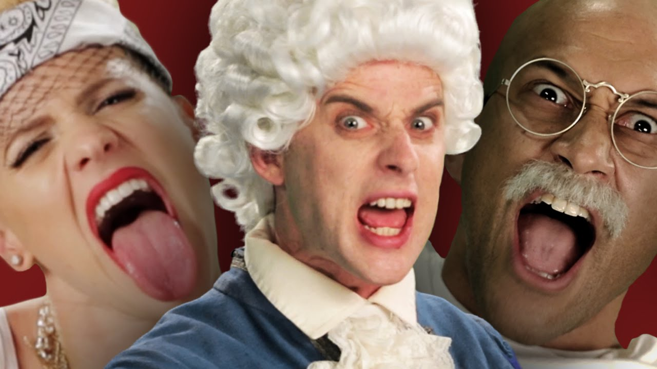 Epic Rap Battles Of History - 12 Greatest Punchlines thumbnail