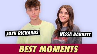 Josh Richards and Nessa Barrett - Best Moments