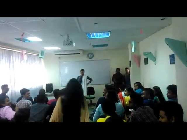 Raju on 8th batch orientation of JCMS State University of Bangladesh