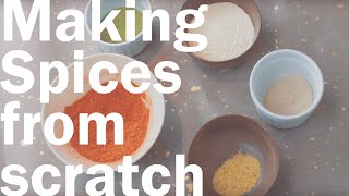 How To Make Dried Powdered Spices
