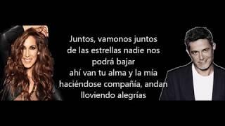 Llueve Alegría[LETRA] Malú Con Alejandro Sanz