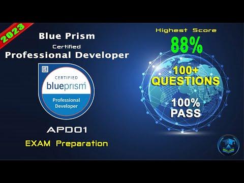 Blue Prism APD01 | Blue Prism Certified Professional Developer ...